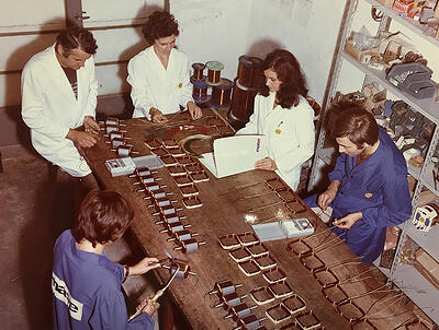 1970 attività fratelli Siboni
