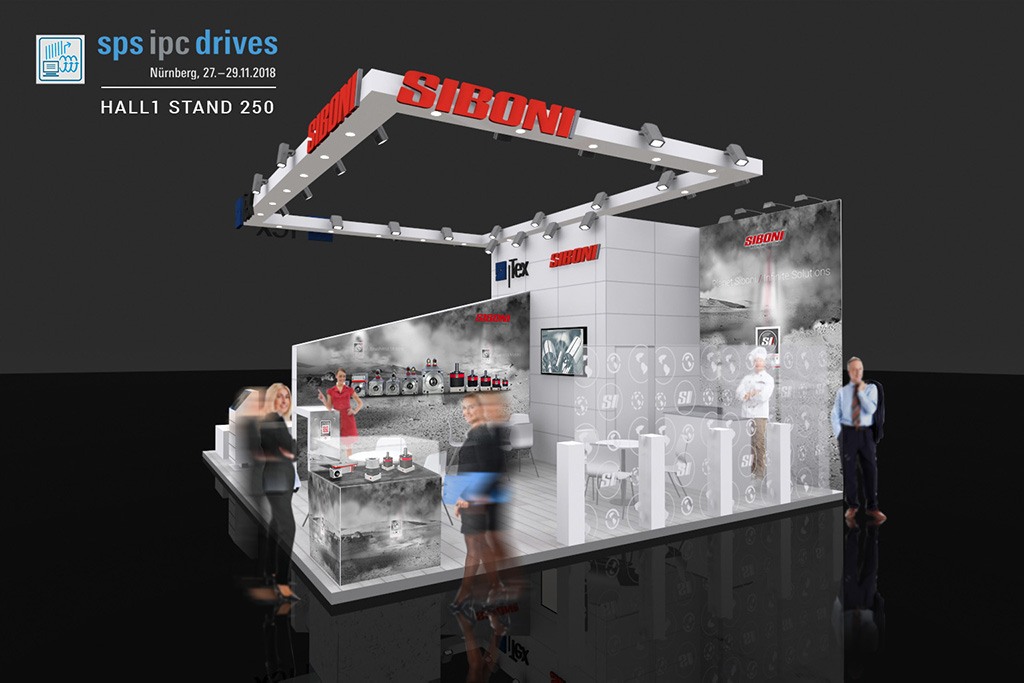 our stand at SPS IPC Drives 2018